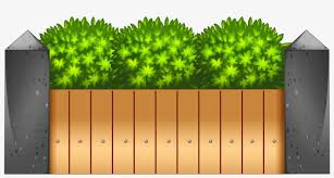 Wooden Fence Png Clipart Wood Fence Clip Art Transparent Png 4000x2005 Free Download On Nicepng