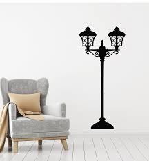 Vinyl Wall Decal Street Light Lamp Lantern House Interior Stickers Mur Wallstickers4you
