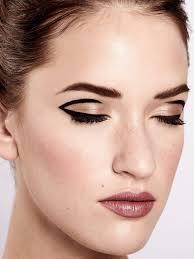 dramatic 60 s eye makeup tutorial