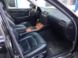 98 00 lexus ls400 all black interior