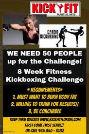 8 week fitness kickboxing challenge in