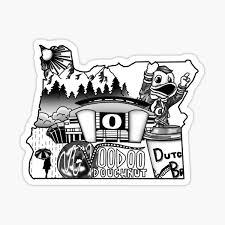 Oregon Stickers Redbubble