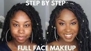 step easy full face makeup tutorial