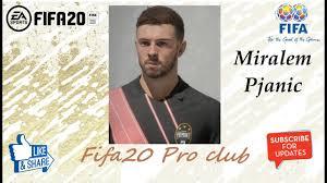 FIFA 20 Miralem Pjanic Look alike in Juventus // Fifa20 Pro club ...