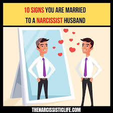 married to a narcissistic husband