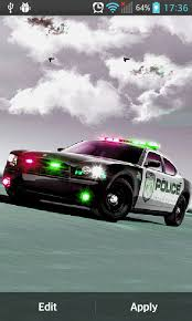 free police car live wallpaper