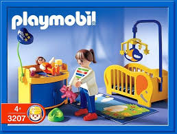 Collectobil Catalogue Playmobil Item 3207 Baby Furniture Sets Baby Nursery Baby Room