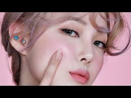 pink make up with subs 쉬머 핑크