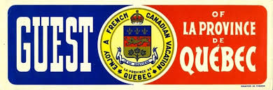The Canadian Design Resource Guest Of La Province De Quebec Car Decal