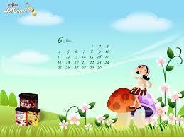calendar wallpaper chocolate mite