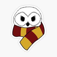Hedwig Sticker By Artisthasnoname Redbubble