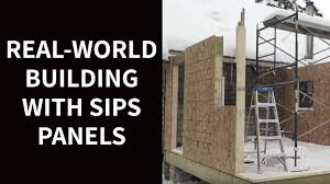 real world building with sips panels