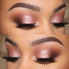 makeup to go with rose gold dress