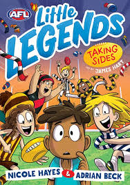 Taking Sides (#2 AFL Little Legends) by Adrian Beck; Nicole Hayes | Escape  Hatch Books