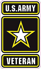 Amazon Com U S Army Veteran Magnet Decal 6 In Size From The United States Automotive