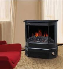 electric fireplace heater 3 sided