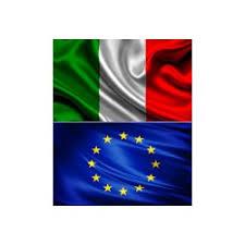 2 Coppie di Bandiere Italia ed Europa - Centro Forniture s.n.c