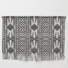 tribal textile wall hanging by
