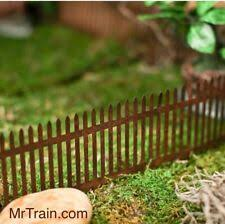 Chain Link Fence For Model Railroads Fairy Gardens Diorama Miniature Scenery For Sale Online Ebay