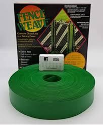 Amazon Com Pexco Fence Weave 250 Roll Green Made In The Usa Garden Outdoor