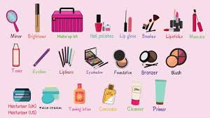 learn english voary makeup and
