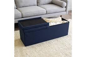 Tot Tutors Kids Harper 43 Folding Storage Bench With Tufted Padded Flip Lid Ashley Furniture Homestore