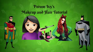 poison ivy makeup you