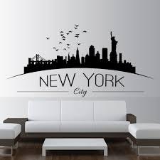 Superhero Skyline Wall Decal Chicago Pittsburgh Cleveland Art Philadelphia Gotham Cincinnati Houston Vamosrayos