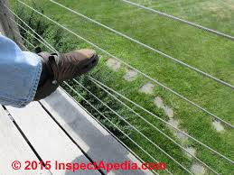 Cable Railings Building Code Rules Installation Specifications For Guardrail Cables Wire Rope Railings