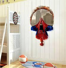 Faroot 3d Super Hero Spider Man Mural Art Vinyl Wall Decal Sticker Kids Room Decor Wallstickers Wall Stickers Aliexpress