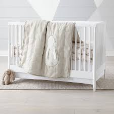 hoppy tails bunny crib bedding crate