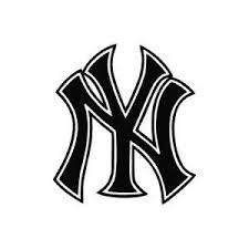 Ny Yankees Logo Outline Google Search New York Yankees Logo Yankees Logo Ny Yankees Logo