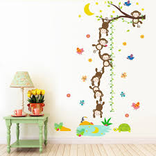 Holoras Child Height Wall Sticker Room Decoration For Kids Nursery Bedroom Living Room Diy Kids Growth