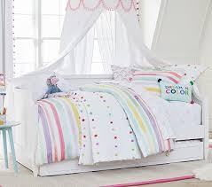 Bright Pom Pom Kids Comforter Set Pottery Barn Kids