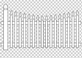 Fence Coloring Book Gate Drawing Png Clipart Adult Angle Back Garden Backyard Black And White Free