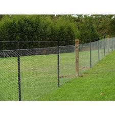 Chain Link Boundary Fencing Length 3 7 Feet Rs 55 Kilogram Kunal Industrial Engineering Id 19326290230