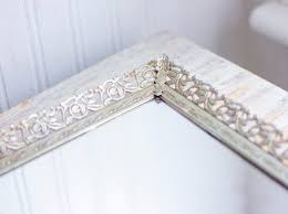 vintage vanity mirror tray for bedroom