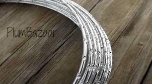 Aluminum Wire Round 12 Gauge 2mm 32 Ft Diamond Cut Silver Plumbazaar