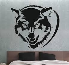 22 Best And Coolest Wolf Wall Stickers