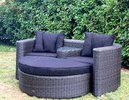 outdoor furniture round sofa rattan