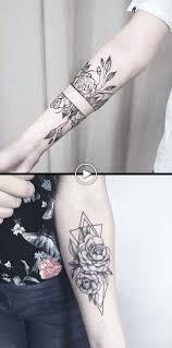 Geometryczne Diamentowe Pomysly Na Tatuaz Na Przedramie Dla Kobiet