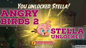 Angry Birds 2 Stella Unlocked - YouTube