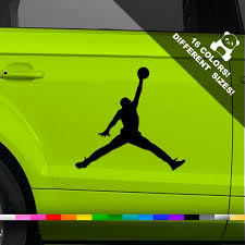 Michael Jordan Car Vinyl Decal Michael Jordan Nike Air Window Etsy