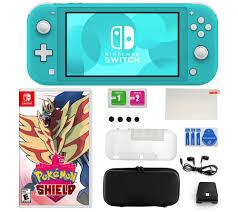 Nintendo Switch Lite Bundle with Pokemon Shield & Accessories ...