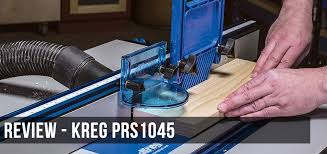 Kreg Prs1045 Router Table Product Review Toproutertables Com