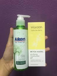 tea tree oil cleanser makeup