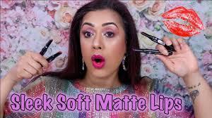 sleek makeup lip dose soft matte