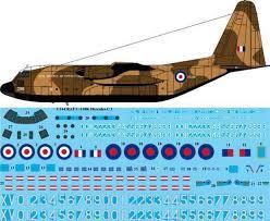 1 144 Scale Decal Raf C 130k Hercules