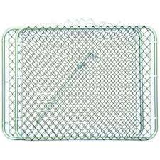 Yardgard Chain Link Fence Gate 2 Panels Black Fabric Drive Through Steel Frame For Sale Online Ebay