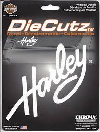 Harley Davidson Window Decal Harley Davidson Window Decal C40002 6 99